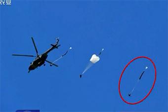 空中惊险3秒钟!关键时刻他挽救了自己生命