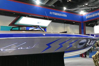 比赛飙船?国产无人战斗艇最高航速80节