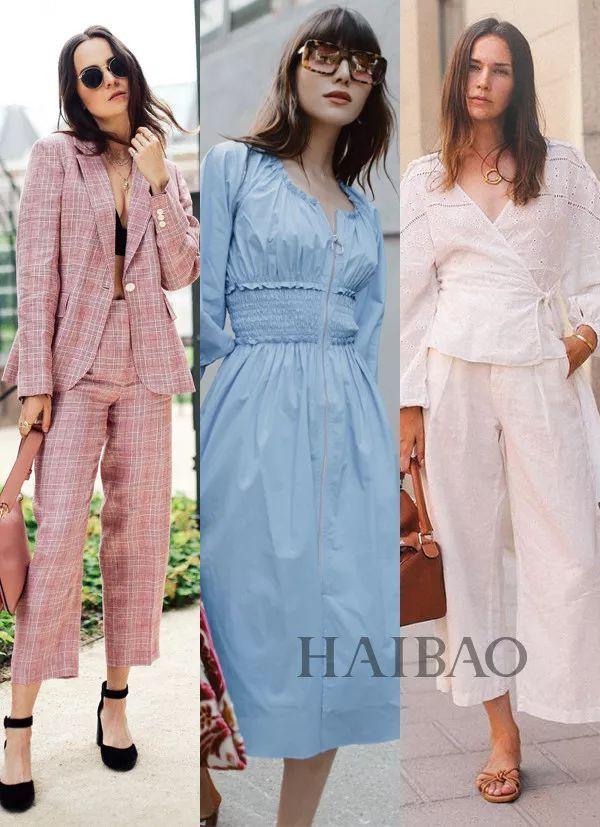 天热就想穿这些!夏天首选简单高级色,比如气质白、茱萸粉...