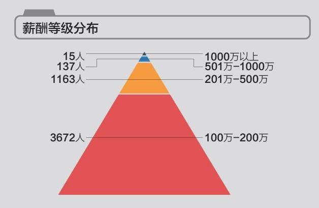 A股公司高管薪酬:这位董事以4037万年薪排榜首