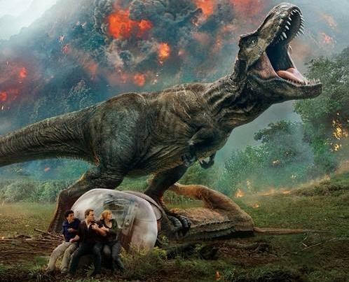 《侏罗纪世界2》内地票房破15亿 豆瓣评分跌破7分
