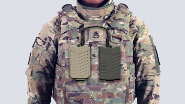 Pitbull军用无人机干扰机非常便于士兵随身携带
