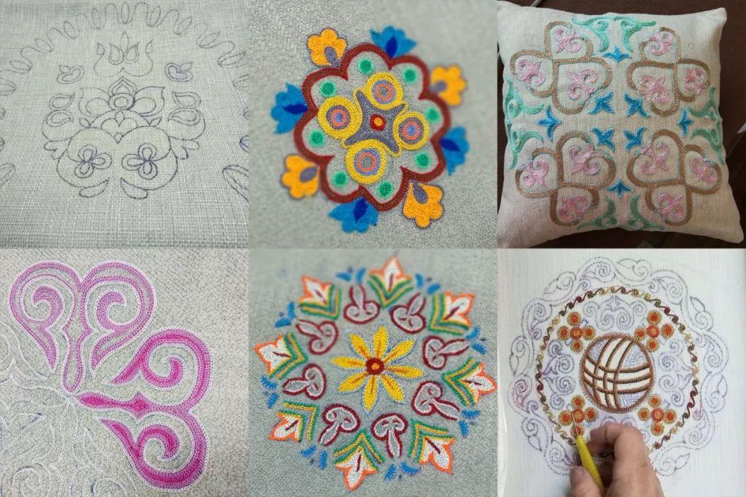 巧女基金会解决生计:十天在新疆绣出最美图案