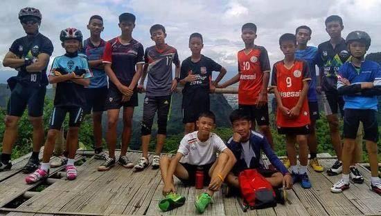 奇迹!泰国少年足球队13人被找到,失踪十天仍生还