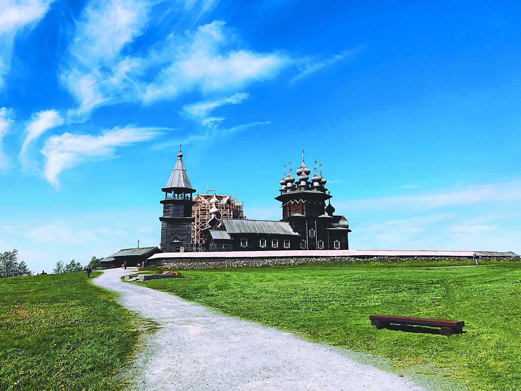 俄罗斯基日岛,木艺的天堂