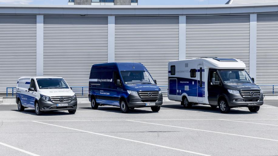 亚马逊:未来或将列装上百辆奔驰纯电动物流车