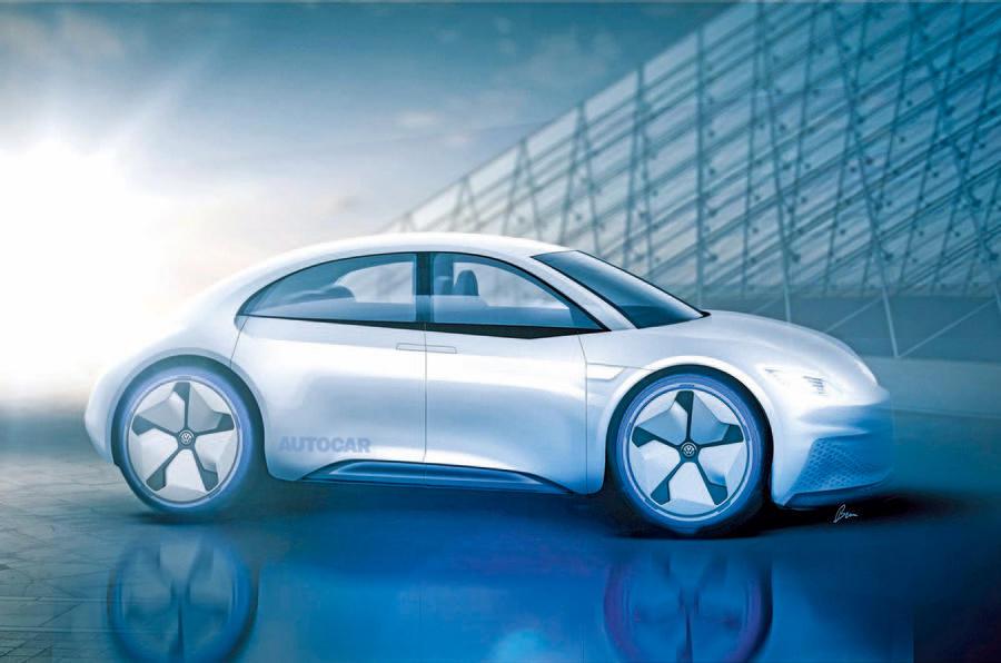 大众考虑推出电动版甲壳虫 将采用后驱/四门设计