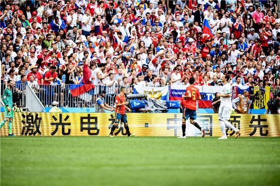 """世界杯看球方式迎变革 激光电视与AI让你""""直达现场"""""""