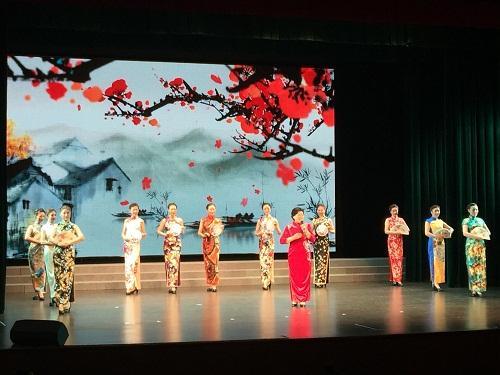 """闵行区""""书画文化志愿团""""开幕仪式"""