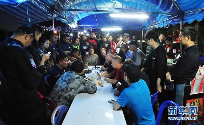 泰国13名失踪少年足球队成员全部生还(图)