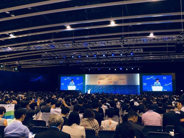"""银谷在线COO郭江受邀出席第三届香港""""一带一路""""高峰论坛"""