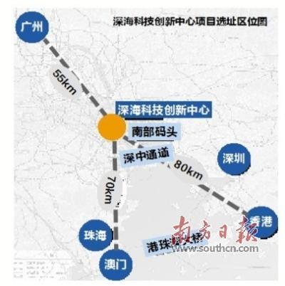 中国可燃冰勘采科研基地选址南沙龙穴岛