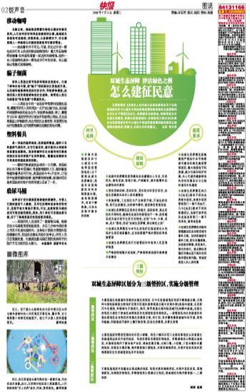 双城生态屏障津沽绿色之洲 怎么建征民意