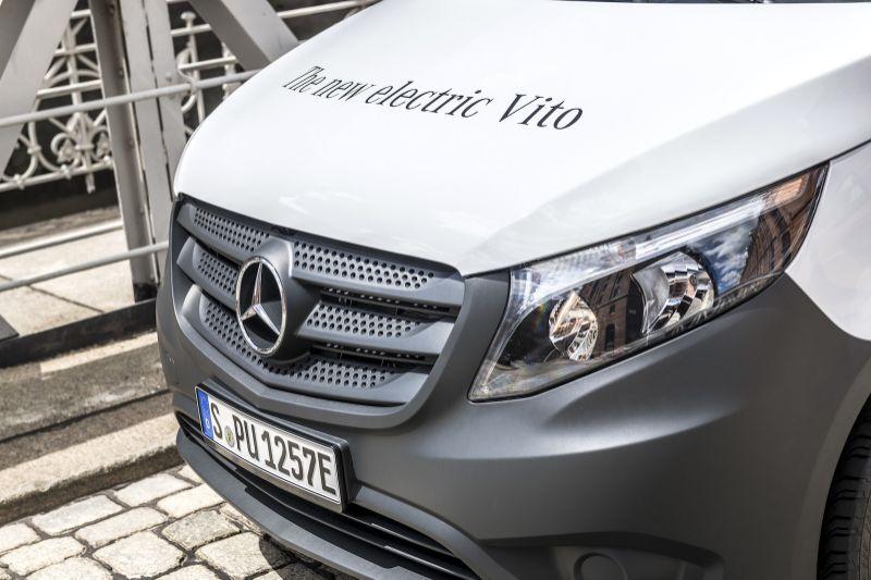 亚马逊订购100辆奔驰eVito电动货车 明年投入使用