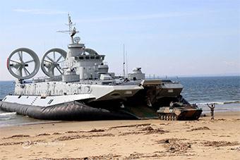 这款抢滩神器罕见亮相 装甲车在其面前很渺小