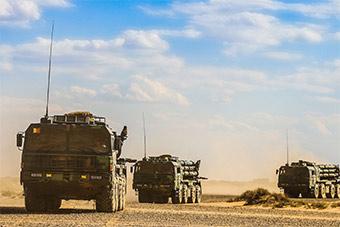 戈壁荒漠远火展现强大进攻能力
