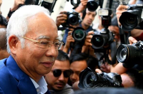 马来西亚前总理纳吉布获准保释 保释金164万元