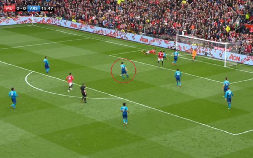 扎卡的快乐足球:丢球时准在附近 静静地看你射门 枪迷习惯了