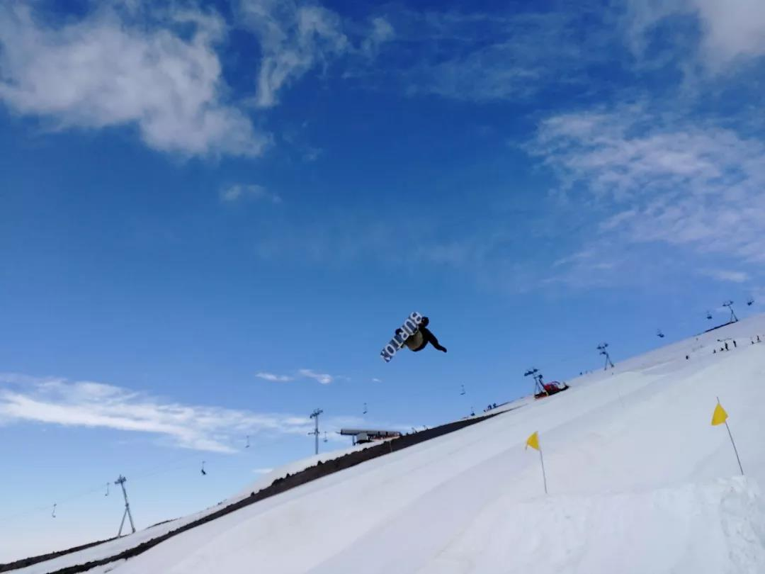 单板滑雪大跳台和坡面障碍技巧国家集训队赴美训练
