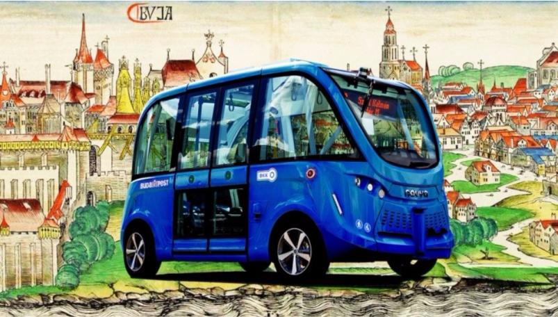 当智能巴士遇上布达佩斯