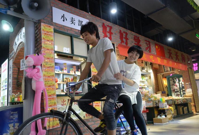 内蒙古商场现怀旧小卖部 销售怀旧零食FC游戏机