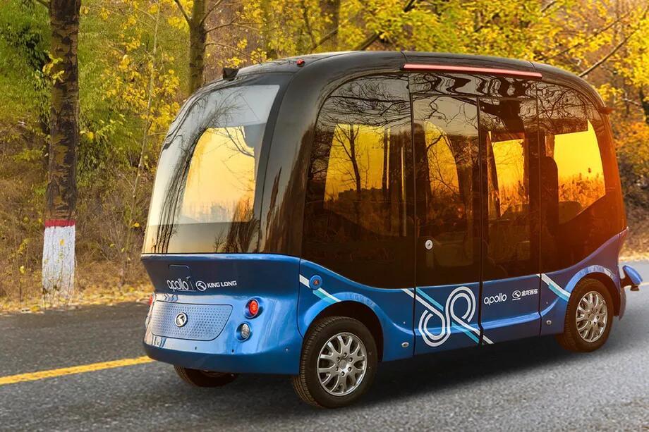 百度宣布已量生产迷你巴士 将于2019年初在日本推出