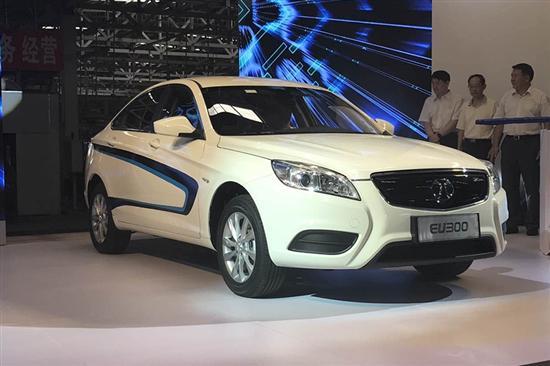 北汽EU300换电版将于7月5日上市 首次对个人销售