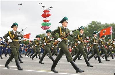 白俄罗斯庆祝独立日