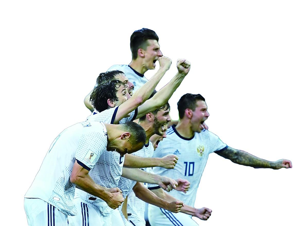 """足球成俄罗斯""""唯一话题"""""""