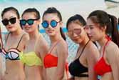 夏季沙滩比基尼,椰子油美体最实用!