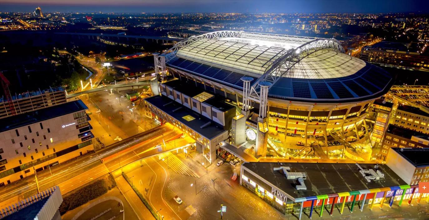 日产用148块电动车电池供电阿姆斯特丹体育场