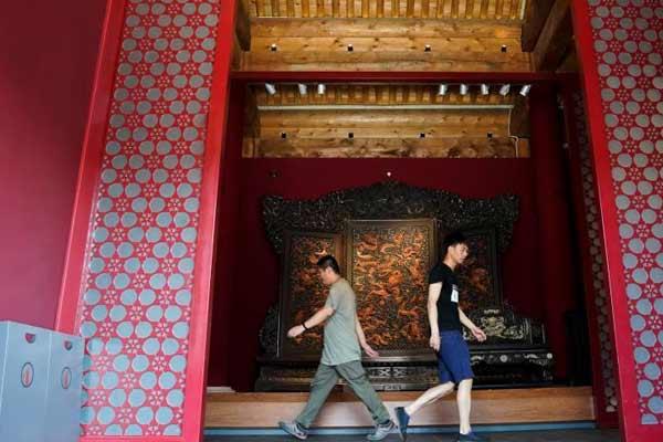 故宫南熏殿区域即将开放 将开办明清宫廷家具展