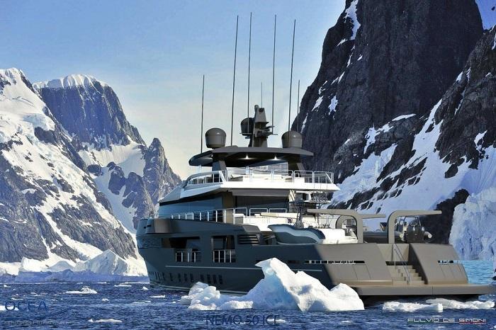 Ocea推出可在极地度假的Nemo 50 ICE豪华游艇