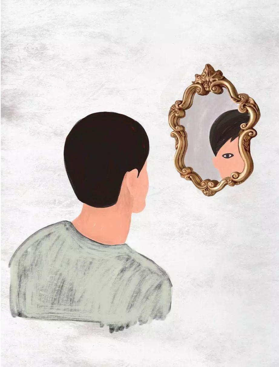 蔡徐坤的眼线, 50年前就有很多男人画过了