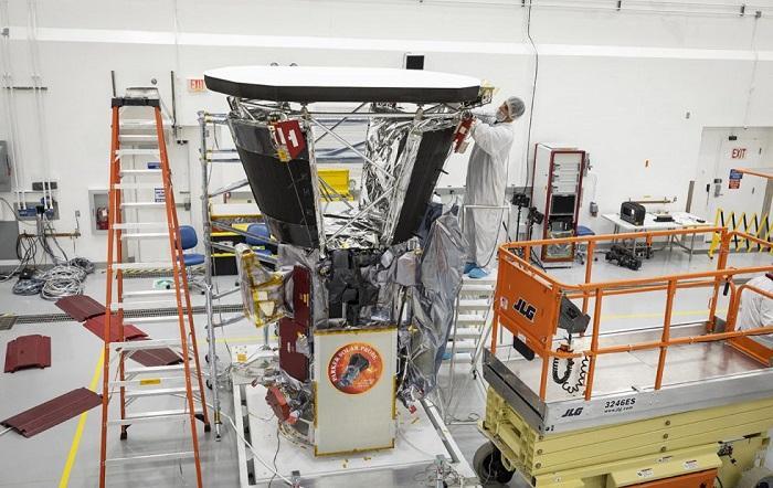 NASA帕克太阳探测器新进展 可承受约1371 ℃高温