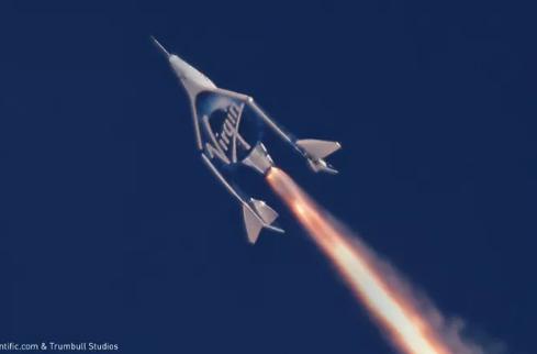 维珍银河计划从意大利发射太空船将客户送上太空