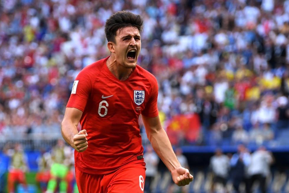 英格兰亮出必杀技就进球!铁卫人堆中狮吼式头槌!
