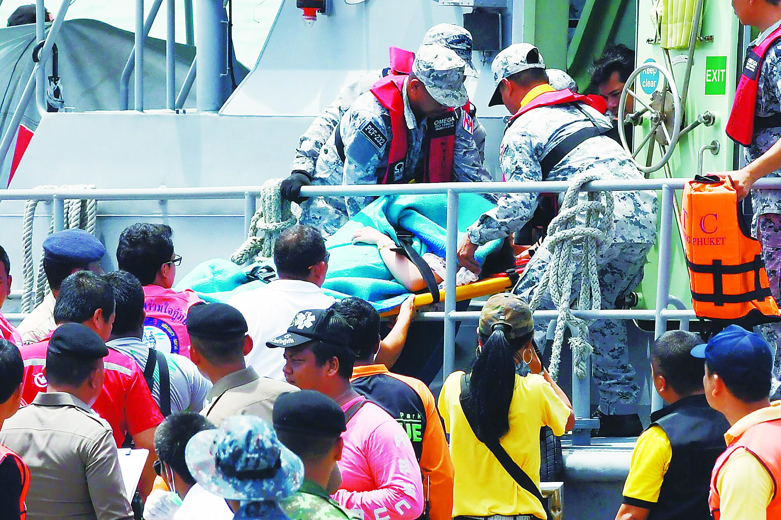 普吉沉船致40名中国游客遇难 亲历者讲述可怕经历