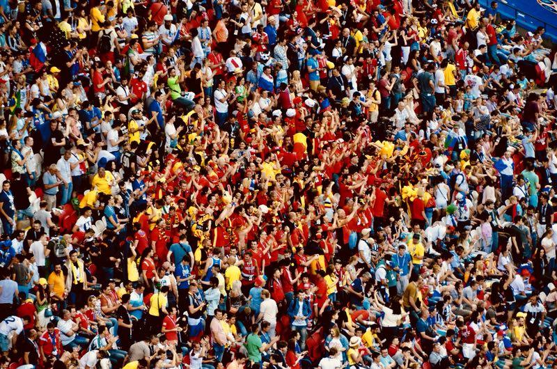 花絮:巴西0:1憾负比利时 观众席持续沸腾