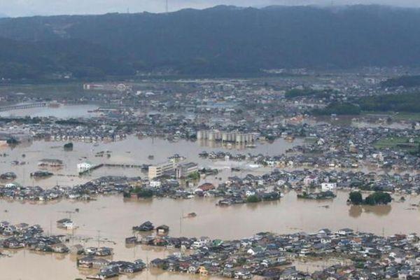 日本暴雨已经致70人死亡 430万人需要疏散