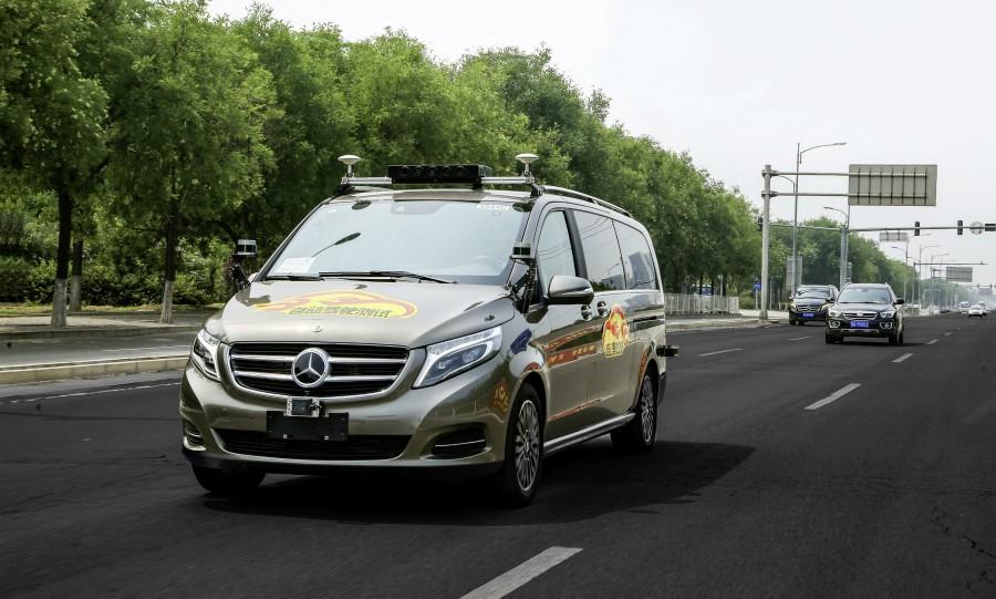 戴姆勒获批在北京开展L4级无人驾驶汽车路试