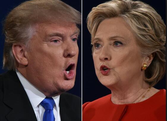 """希拉里存在感""""暴增"""" 或与特朗普2020年再对决"""