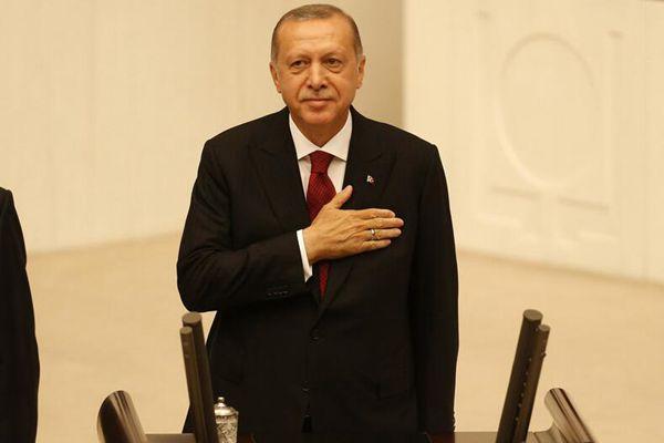 土耳其总统就职仪式举行 埃尔多安开启第二任期