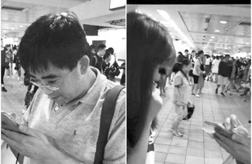 图片说明:被偷拍女子向警方报案(右图),必赢亚洲顶级博彩公司指控邱俊荣(左)。