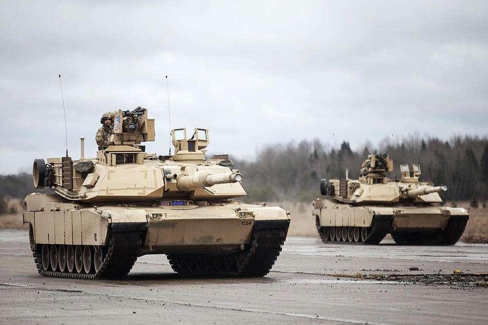 """向美支付保护费?台军拍板要买美""""最强坦克"""""""