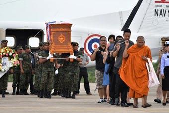 泰国前特种兵救援中牺牲 按军事葬礼待遇安葬