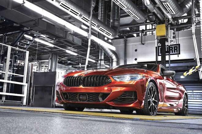 2019款宝马8系双门轿跑已正式投入生产 今秋上市