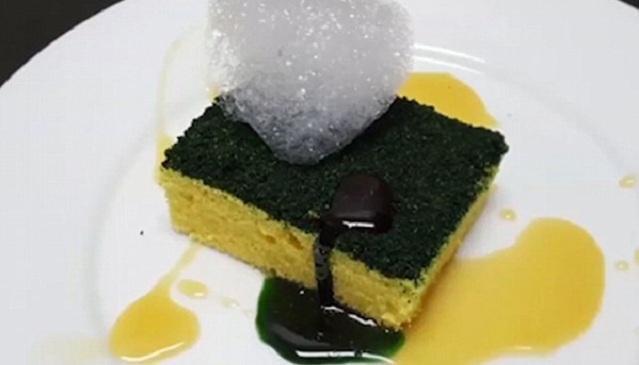 """英国厨师不走寻常路推出""""另类""""特色甜品"""