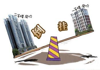 """多城市一二手房价格严重""""倒挂"""""""