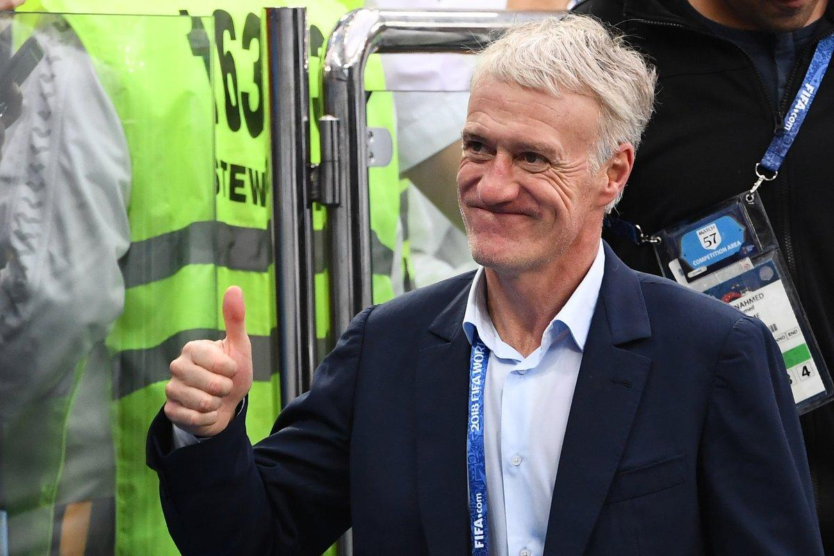 德尚:法国的目标就是进入决赛 很高兴和亨利相遇